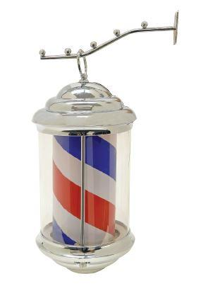 Hanging LED Barber Pole