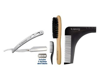 4 pc. Grooming Kit