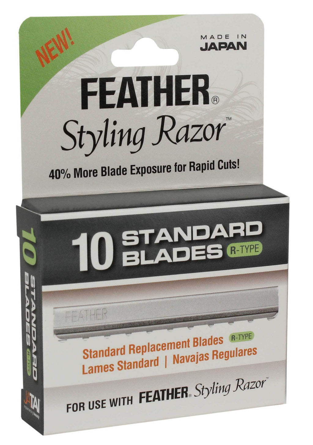 Feather Standard Blades R-Type