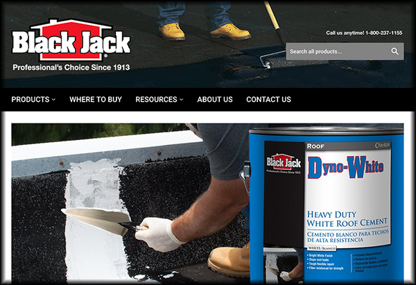 Professionals Turn To The Black Jack Brand When They Want Results They Can  Count On.