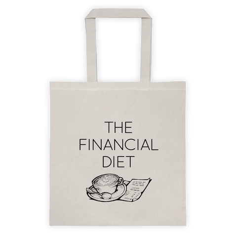 """The Financial Diet"" Tote Bag"