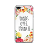 """Bonds Over Brunch"" Floral Border iPhone 7/7 Plus Case"