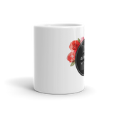 """Talk About Money"" Floral Circle Mug"