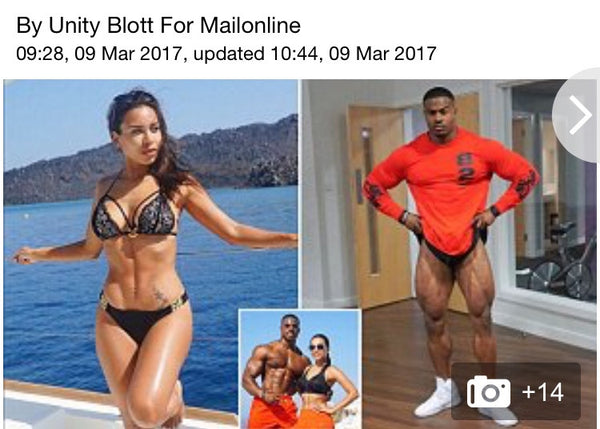 World's Fittest Couple! - Mail online
