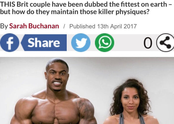 World's fittest couple Reveal - Daily Star