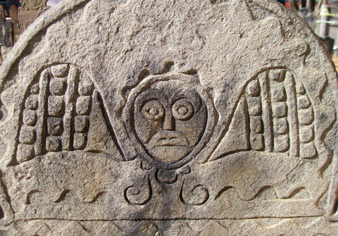 Mysterious stone carving may contain old message seeker
