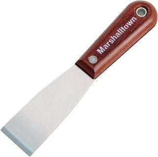 "Marshalltown Tools - 1 1/2"" Chisel Knife-Rosewood Handle - Atlas Preservation"