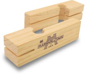 "3 3/4"" Wood Line Blocks (Pair)-Marshalltown Tools-Atlas Preservation"