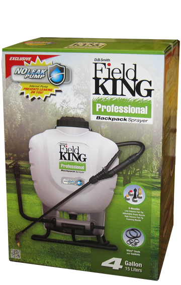 Field King Professional Backpack Sprayer - 4 Gallon Tank-Field King-Atlas Preservation