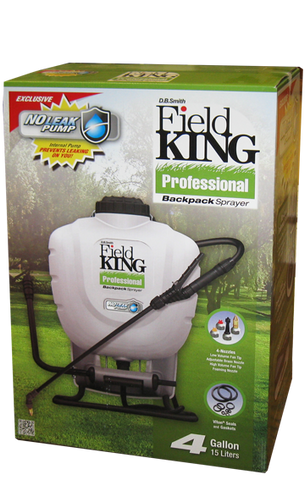 Field King Professional Backpack Sprayer - 4 Gallon Tank