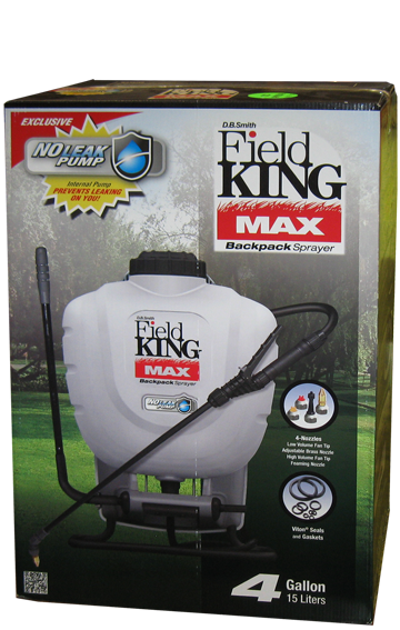 Field King Max Professional Backpack Sprayer - 4 Gallon Tank-Field King-Atlas Preservation