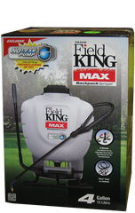 Field King - Field King Max Professional Backpack Sprayer - 4 Gallon Tank - Atlas Preservation