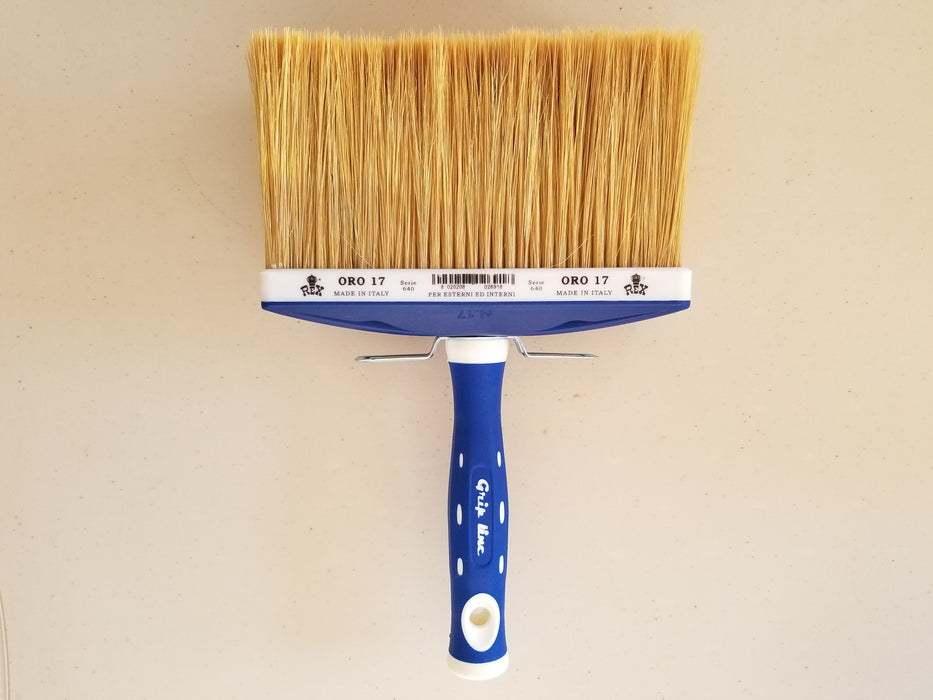 "ORO Lime Paint Brush - 6.5""-Rex Pennelli-Atlas Preservation"