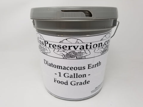 Diatomaceous Earth - 1 Gallon (Food Grade)
