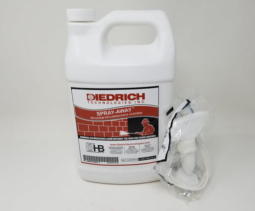 Spray-Away No-Scrub Efflorescence Cleaner-Diedrich-Atlas Preservation