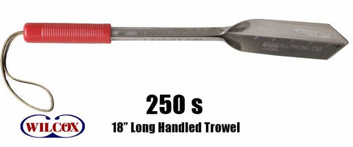 "18"" Stainless Long Handled Trowel-Wilcox-Atlas Preservation"