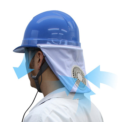 Helmet Fan Attachment with Lithium Ion Battery (Half Brim/No Brim)-Zippkool-Atlas Preservation