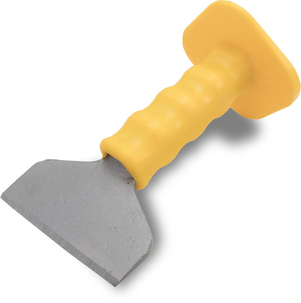 "7 x 4 Soft Grip Brick Chisel w/ 7/8"" Stock and Guard-Marshalltown Tools-Atlas Preservation"