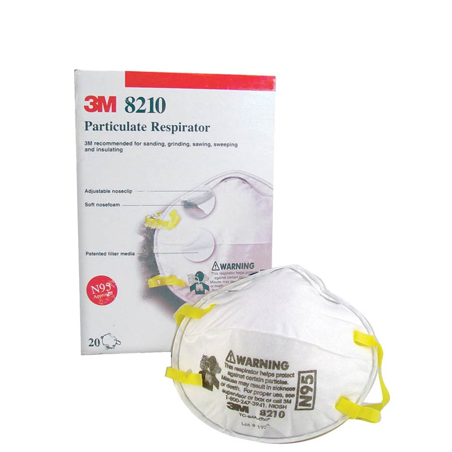 Particulate Respirators - Model 8210-Bon Tools-Atlas Preservation
