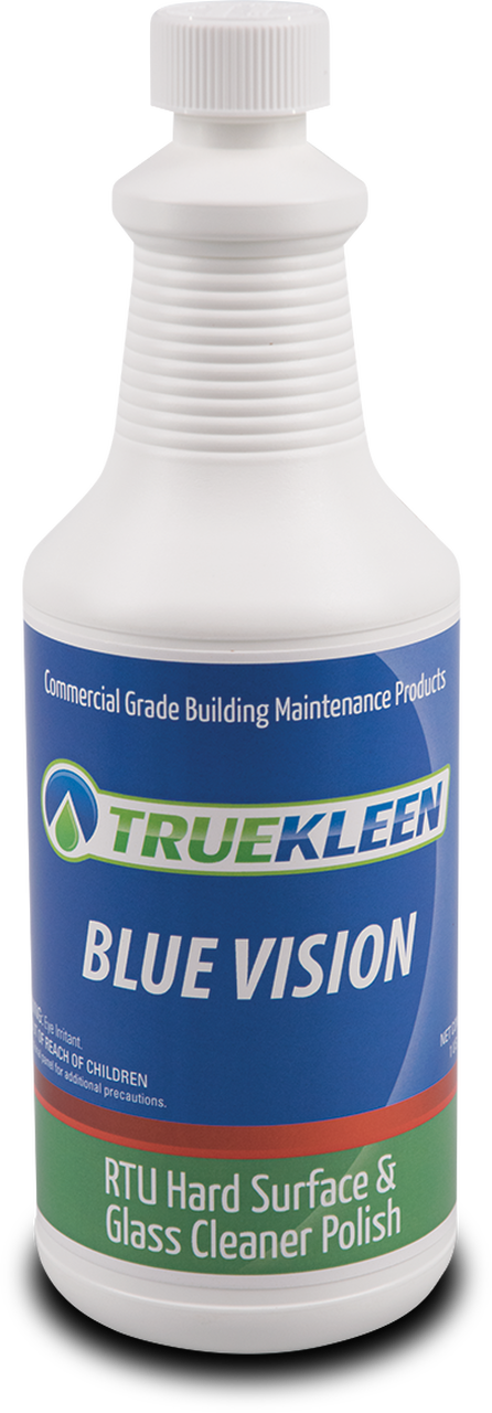 Blue Vision Glass Cleaner - 1 Quart-TrueKleen-Atlas Preservation