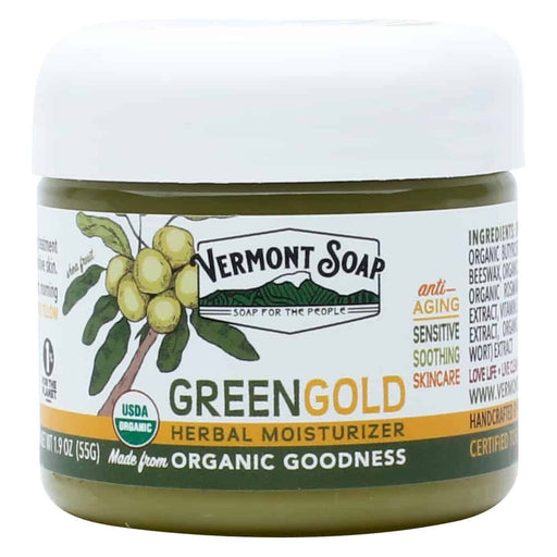 Green Gold Herbal Moisturizer-Vermont Soap-Atlas Preservation