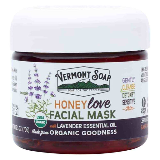 Honey Love Facial Mask-Vermont Soap-Atlas Preservation