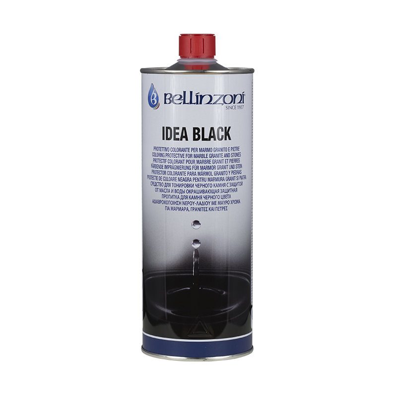 Idea Black - Black dyed protective for black granite enhancing-Bellinzoni-Atlas Preservation