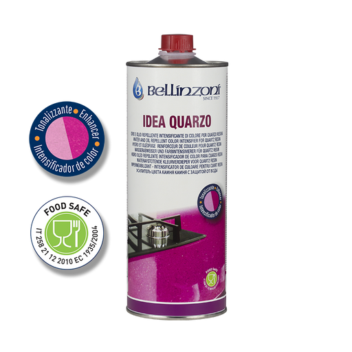 Idea Quarzo - Impregnating enhancer with darkening action-Bellinzoni-Atlas Preservation