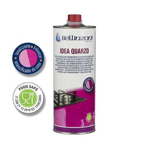 Idea Quarzo - Impregnating enhancer with darkening action