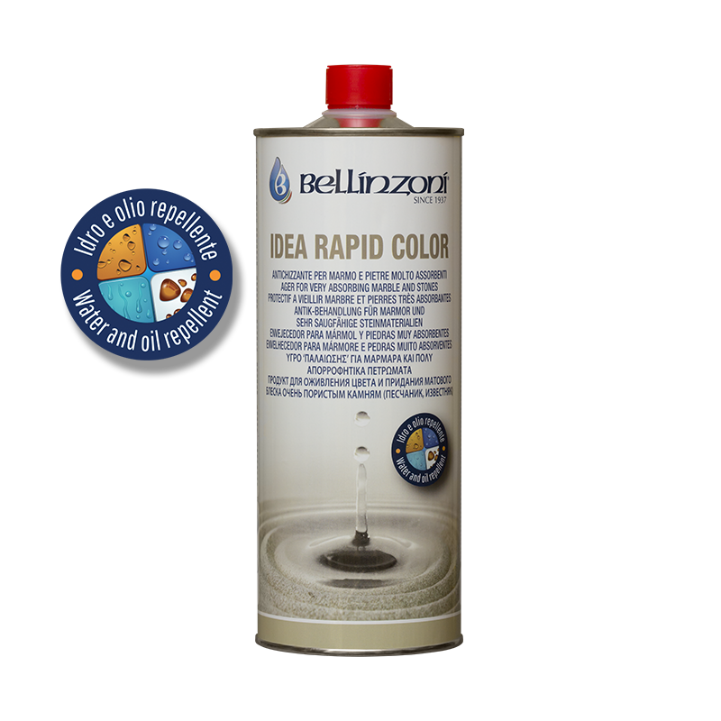Bellinzoni - Idea Rapid Color - Waterproofing enhancer for very porous stones - Atlas Preservation