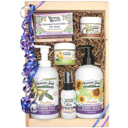 Lavender Ecstasy Gift Crate-Vermont Soap-Atlas Preservation
