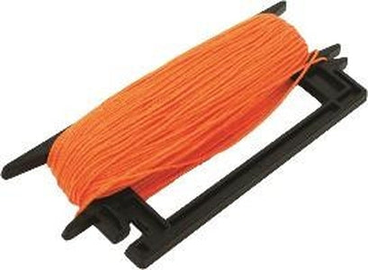 Mason's Line Winder-Fl. Orange Braided Nylon-Marshalltown Tools-Atlas Preservation