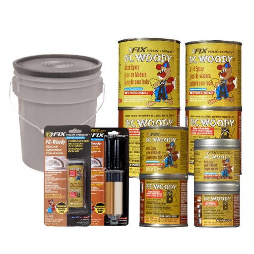 PC-WOODY - Two part epoxy paste that is excellent for filling cavities in wood-Protective Coating Company-Atlas Preservation