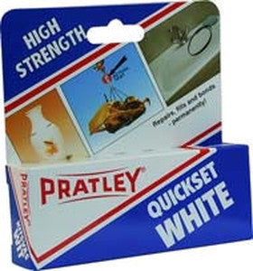 Pratley Quickset White Epoxy - 40 ML