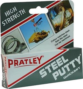 Pratley Steel Putty - 125 Grams