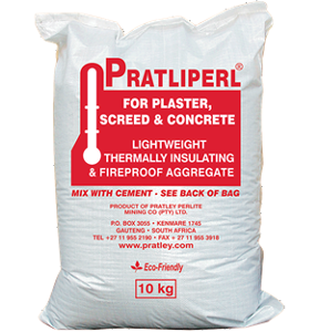 Pratliperl® 10kg bag (For Lightweight Plaster and Screeds)-PratleyUSA