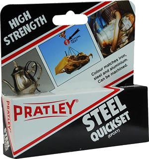 Pratley Steel Quickset® - 40 ML