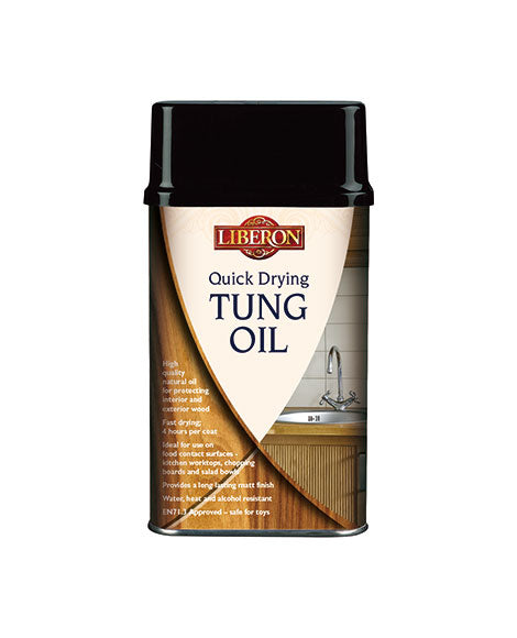 Quick Drying Tung Oil-Liberon-Atlas Preservation