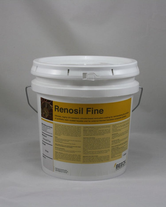 Renosile Fine, White - 1 Gallon-BEECK Mineral Paints-Atlas Preservation