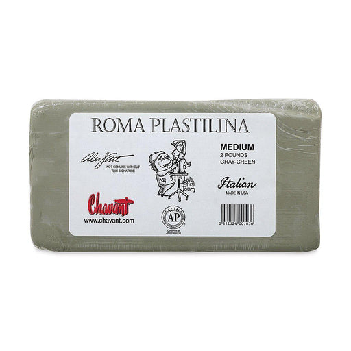 Roma Plastilina - Medium-Chavant Modeling Clay-Atlas Preservation