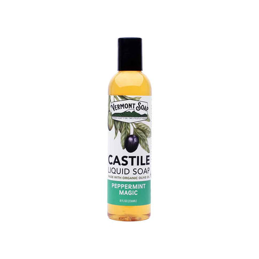 Peppermint Magic Castile Liquid Soap-Vermont Soap-Atlas Preservation