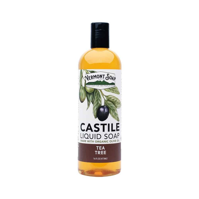 Tea Tree Castile Liquid Soap-Vermont Soap-Atlas Preservation
