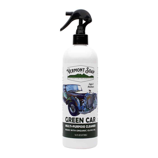 Green Car Cleaner 16oz-Vermont Soap-Atlas Preservation