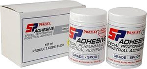 Pratley SP001® Chemical Resistant Adhesive - 2x250ml jars