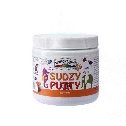 Sudzy Putty 8oz Jar-Vermont Soap-Atlas Preservation