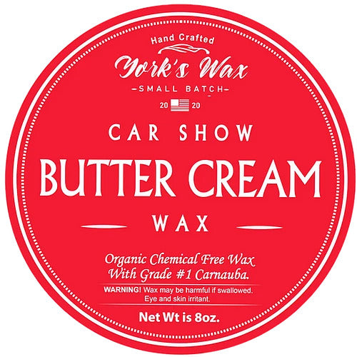 Organic Car Wax 8oz-York's Wax-Atlas Preservation