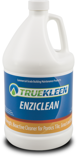 Enziclean - Bioactive cleaner for porous tile, grout, concrete - 1 gallon-TrueKleen-Atlas Preservation