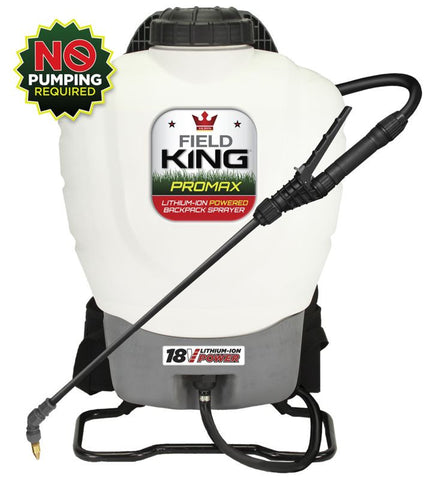 Lithium Ion Powered Backpack Sprayer