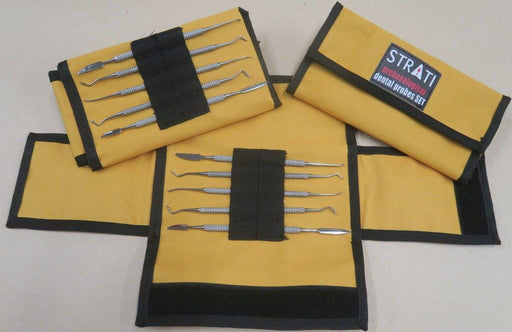 Set of 5 dental probes with case-Strati-Concept-Atlas Preservation