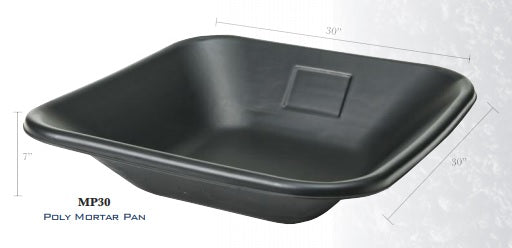 "Mortar Pan 30"" X 30"" X 7""-Wolverine Tools-Atlas Preservation"